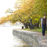 Walking Along Tidal Basin 200x200 Engagement Session Special!